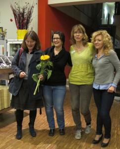 Elternkreis-Team mit Julia Fritzsche (2. v. li.)