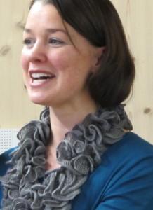 Bürgermeisterin Eveline Breyer im MGH